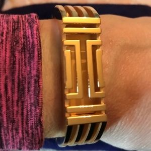 Tory Burch Jewelry - Tory Burch gold plated bangle